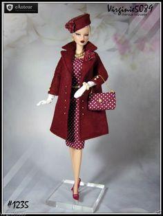 Tenue Outfit Accessoires Pour Fashion Royalty Barbie Silkstone Vintage 1235 | eBay