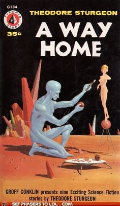 WTf Sci-Fi Book Covers: A Way Home