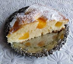 Smotanový koláčik s broskyňami (fotorecept) - recept   Varecha.sk