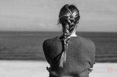 Hair Beauty Braid Plait Black&White Photo Photography Baltic Sea Landscape Beautiful Place