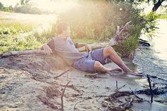 Beachy senior photos #seniorportraits #lakes #beaches #photography #jsartco