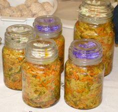 Achard de legumes - Mauritian Vegetable Pickles - YUM!