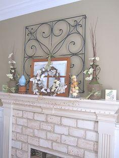 Redoing my fireplace on Pinterest   Brick Fireplaces, Painted Brick ...