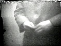 Nam June Paik, Button Happening (still), 1965, black-and-white sound video, 2 minutes. Broad Art Museum. COURTESY ELECTRONIC ARTS INTERMIX (EAI), NEW YORK