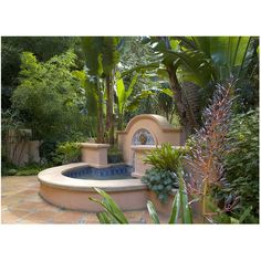 1000 images about pools water features on pinterest - Spanish style water fountains ...