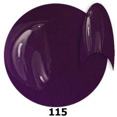 115. NTN Lakier żelowy UV - Lilashine -  Ciemny Fioletowy - 15ml