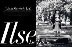Editorial design JAN Magazine 4-2009 Interview Ilse de Lange