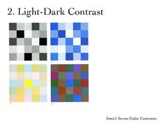 itten light/darkcontrast