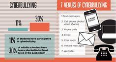Various cyber bullying venues