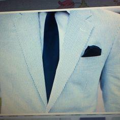 Love the light jacket for a Beach Wedding