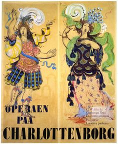 Bjorn Wiinblad Operaen Paa Charlottenborg