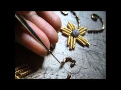 Zardosi needle & thread Bead Sequence Fabric Art