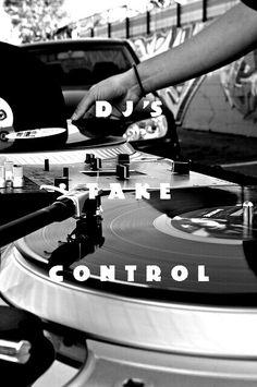old skool DJ. like this.