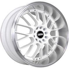 17x9 White Wheel STR 514 5x100 5x4.5 20