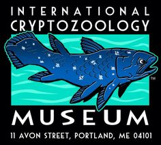 International Cryptozoology Museum – located at Thompson's Point in Portland, Maine. Cryptozoology Museum, Dover Demon, Downtown Portland, Portland Maine, The Jersey Devil, Family Vacation Spots, Loch Ness Monster, Museum Store, Curious Creatures