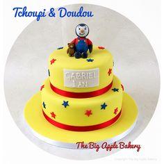 Gateau d'anniversaire Tchoupi & Doudou