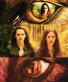 'The Twilight Saga' - Bella & Renesmee in Jacob's Eyes.