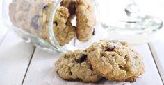 Recette de Cookies aux flocons d'avoine et raisins secs. Facile et rapide à réaliser, goûteuse et diététique. Ingrédients, préparation et recettes associées.
