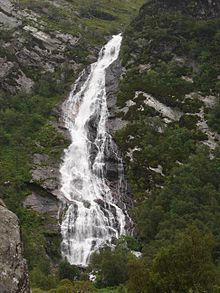 Steall Waterfall, Scotland