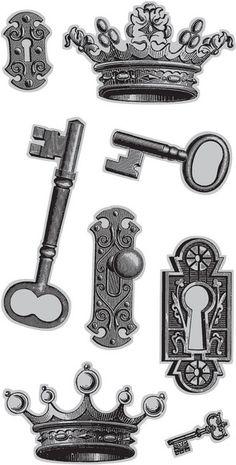 Keys & Locks:  #Locks and #keys.