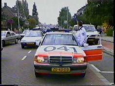 Achtervolging overvallers politie Rotterdam 1993 - YouTube