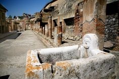 Ercolano (Herculaneum), Italy - The archaeological areas of Pompeii, Herculaneum and Torre Annunziata make up one of Italy's 47 UNESCO WHS