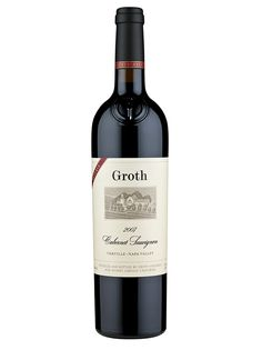Groth - Cabernet Sauvignon We have bottles of the Reserve in our retail, perfect for aging. I give this as a gift for weddings. The couple can open it to celebrate they're fifth anniversary.