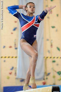 Ellie Downie first ever GB woman to win international all-round gymnastics medal.Bronze at European Gymnastics Championships 2015.
