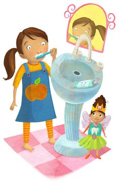 Laura Watson - LW_Tooth-brushing-fairy