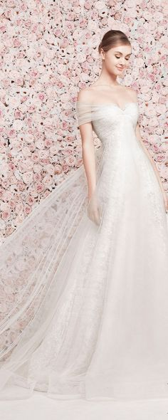 Very pretty -RH  -Georges Hobeika Bridal S/S 2014