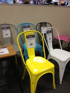 More Superamart bargains on metal chairs