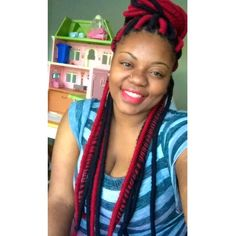 Faux Locs With Yarn (Yarn Dreads) Dope Hairstyle