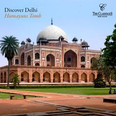 Did you know that the Humayuns tomb was the first garden-tomb on the Indian subcontinent, and it's only a 10 minute drive from The Claridges?