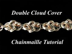 Chainmail Tutorial for Double Cloud Cover PDF Instructions Only via Etsy