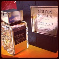 Londinium is my favourite fragrance, with notes of aged malt whiskey and berries its perfect to wear it the evening. #fragrance #london #beauty #moltonbrown