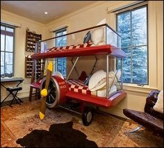 Airplane themed decorating ideas