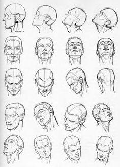 Учимся рисовать лицо человека