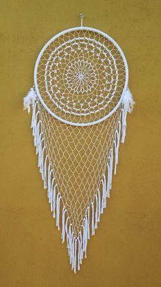Crochet Mandala, Dream Catcher, Dreaming Of You, Craft Ideas, Dreams, Crafts, Decor, Sewing Box, Knit Crochet