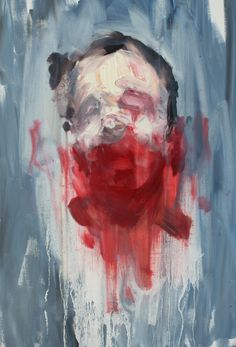 Antony Micallef - head with bruise 2009 Abstract Portrait, Portrait Art, Portraits, Painting Inspiration, Art Inspo, A Level Art, Contemporary Paintings, Figurative Art, Backgrounds