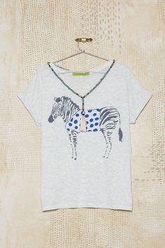 Me encantó la nueva colección Verano 16, mirá lo nuevo en Rapsodiastore.com > Remera Roma Cebra