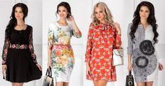 Marya.ro va recomanda 30 de modele Rochii cu Imprimeuri, pentru zi și seara. Pline de 20 Min, Marie, Kimono Top, Shopping, Women, Fashion, Moda, Fashion Styles, Fashion Illustrations
