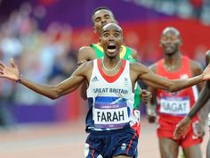 Mo Farah completed an epic Olympic double as he added the 5000 metres gold to his 10000m crown on the final night of athletics action at London 2012. A truly amazing feat, the first British athlete to achieve it and only the 7th in history.