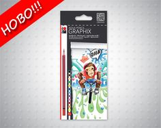 Моливи цветни акварелни Marabu Aquarel pencil Graphix