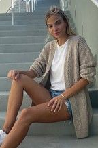 Buy Lipsy Ivory Regular Cable Cardigan from the Next UK online shop Cable Cardigan, Grunge Girl, Lipsy, Next Uk, Uk Online, Wool Blend, Knitwear, Dress Up, Skinny Jeans
