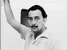 salvador dali, né le 11 mai 1904 (mort le 23 janvier 1989)