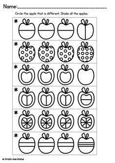 8098ed59c28822d200130626bf55abfb--game-cards-apples Vition Worksheet For Kindergarten on