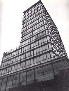 Hotel Del Paseo, Paseo de la Reforma 208, Col. Juárez, México DF 1956 Arq. Alberto Velasco - Hotel Del Paseo, Zona Rosa, Mexico City 1956