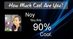 Check my results of How Much Cool Are You? Facebook Fun App by clicking Visit Site button