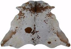 Salt and Pepper Cowhide Size: 5.7' X 6' Black & White Salt Cowhide M-138 #cowhidesusa #Contemporary