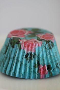 Vestli House Cupcake Liners - so cute